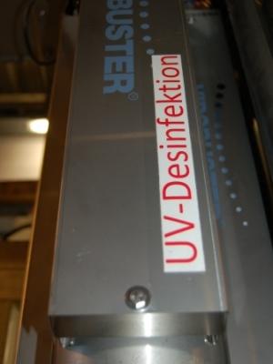 UV-Desinfektion der Zuluft