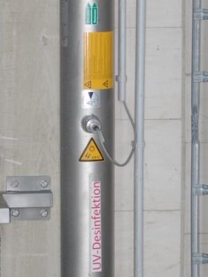UV-Desinfektion der Wasserzufuhr